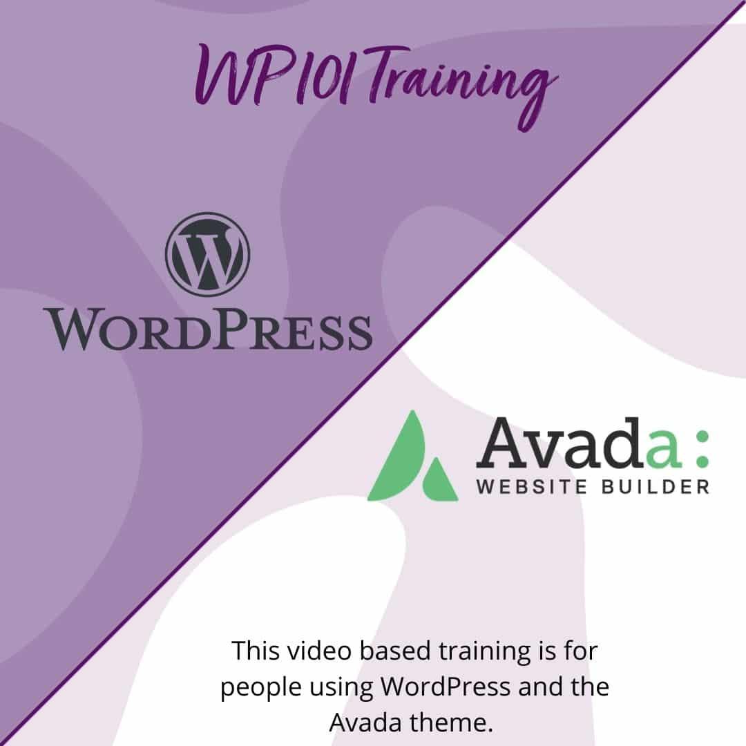 WP 101 & Avada Training
