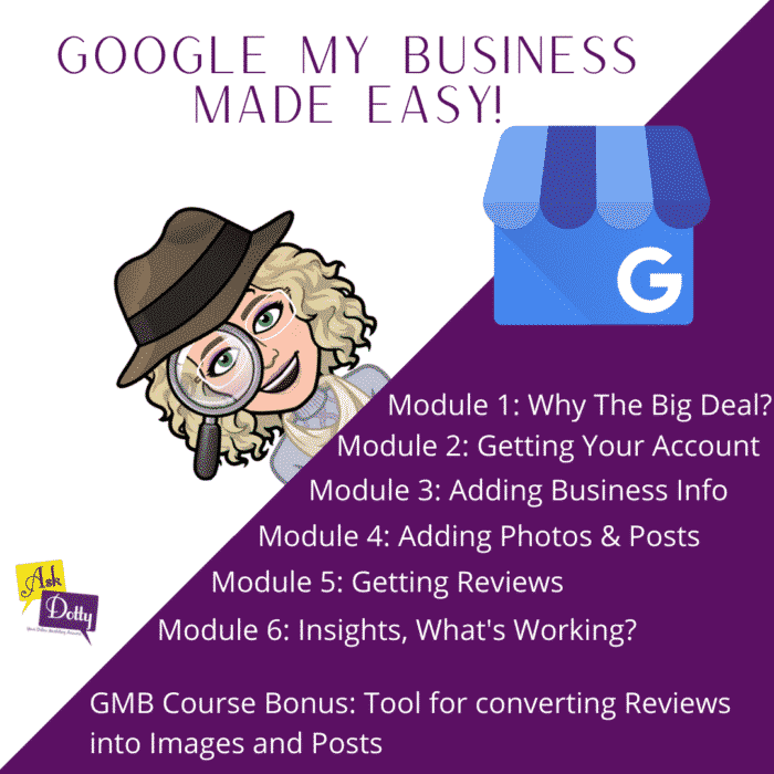 Google My Business Made Easy! Course TN
