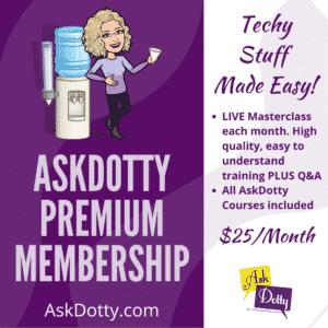AskDotty Premium Membership