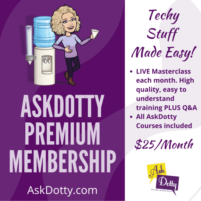 AskDotty Premium Membership